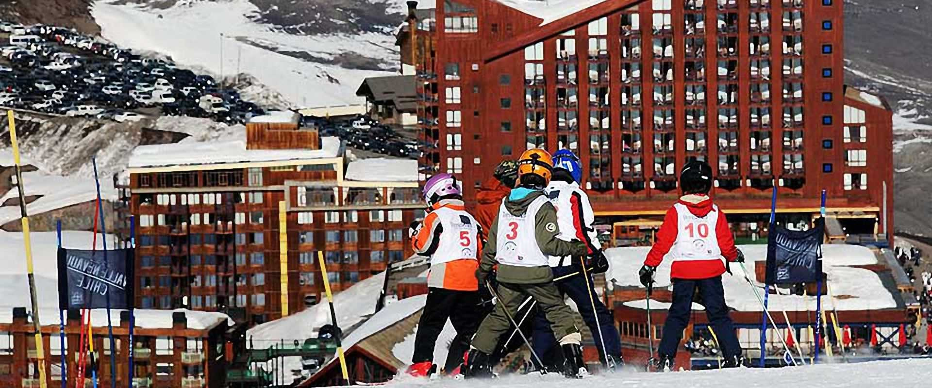 valle nevado esqui