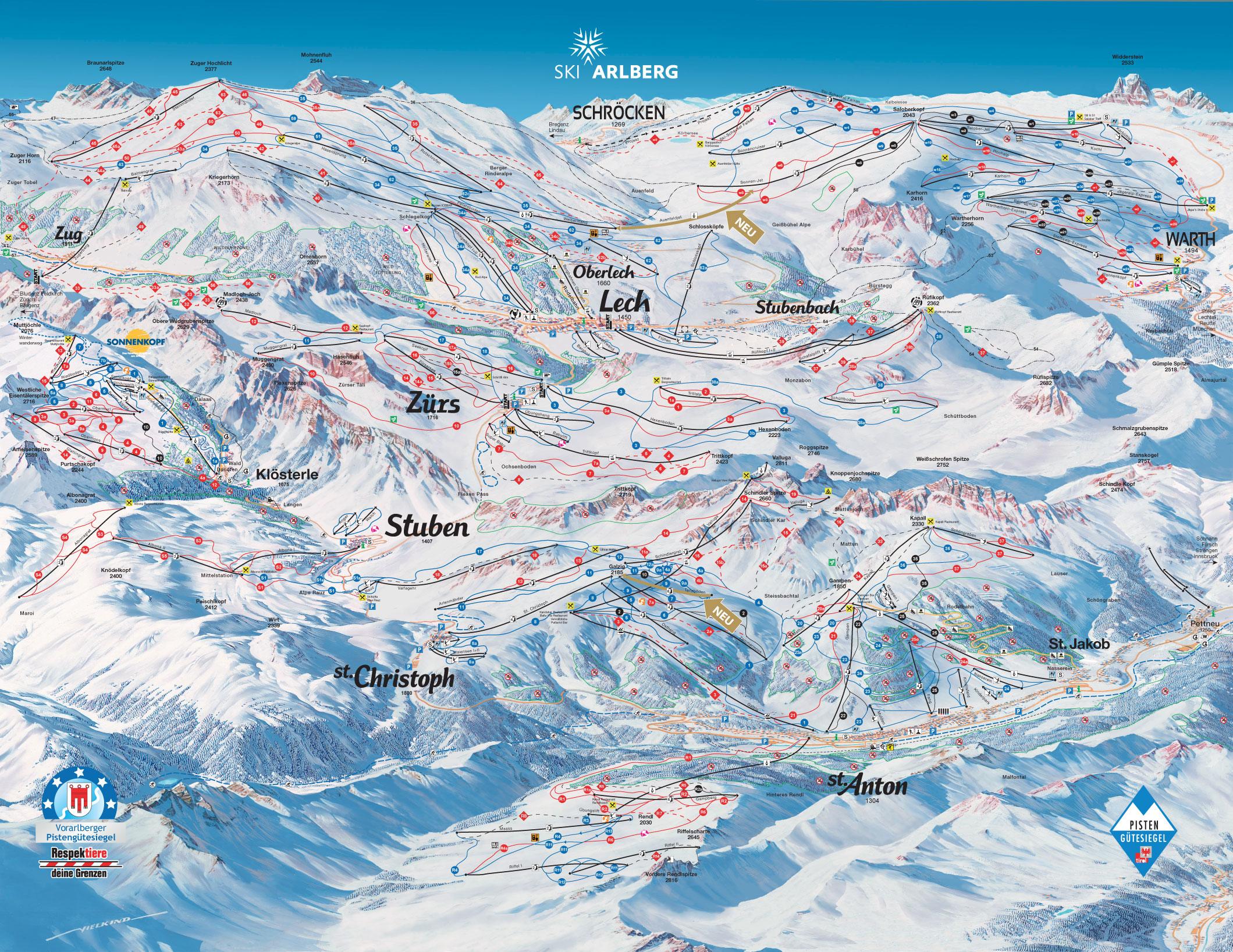 Mapa da pista LechZurs
