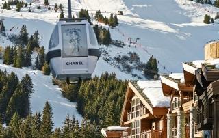 ski em courchevel