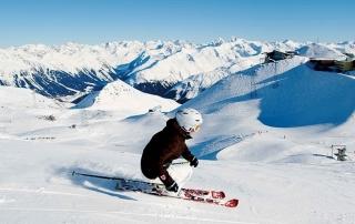 ski em Davos Klosters