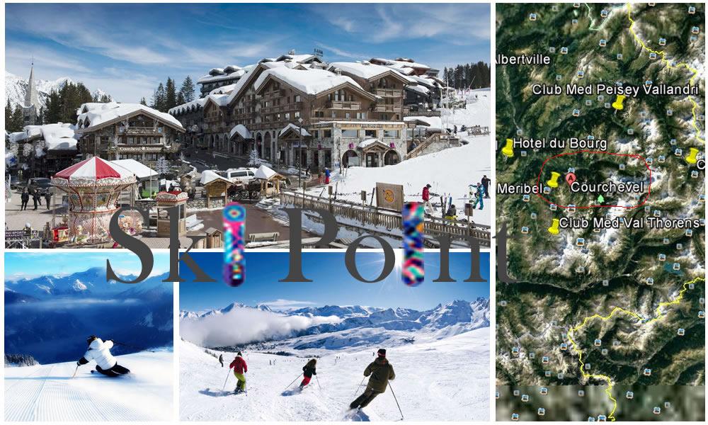 Ski em Courchevel 2018