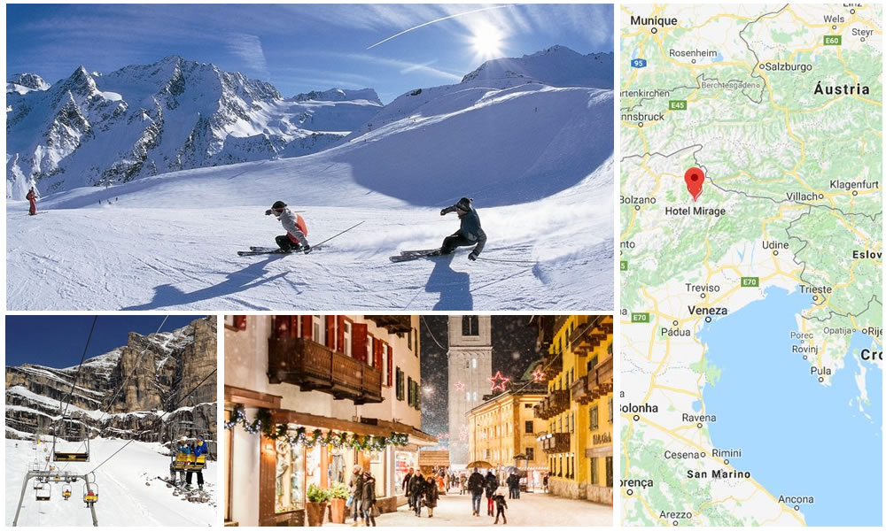 Ski em Cortina